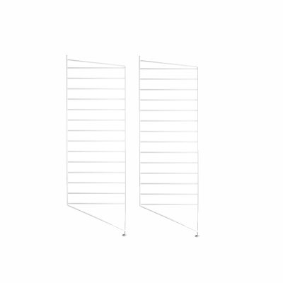 Side Panel Floor (set of 2) - 85cm x 30cm - White