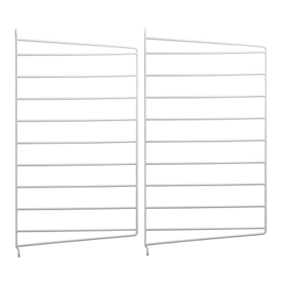 Side Panel Wall (set of 2) - 50cm x 30cm - White