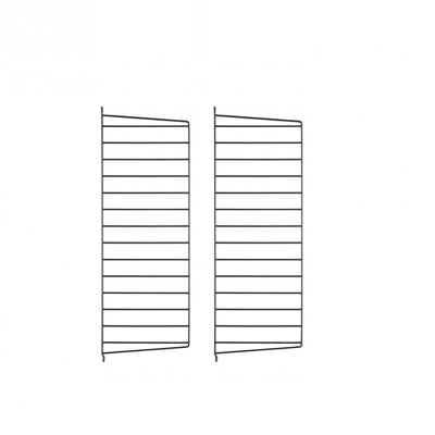 Side Panel Wall (set of 2) - 75cm x 30cm - Black