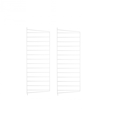 Side Panel Wall (set of 2) - 75cm x 30cm - White