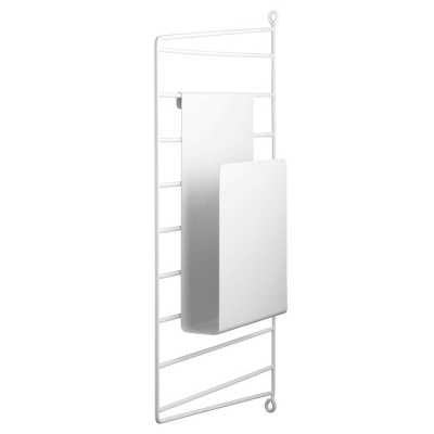 Magazine Holder - Black/White/Grey