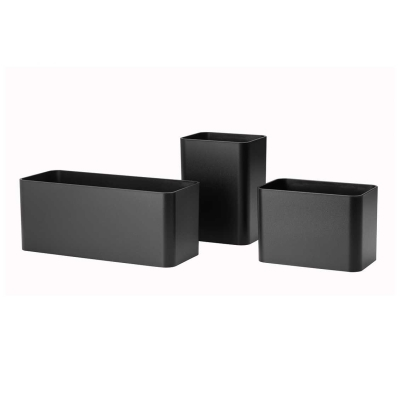 Organizers (set of 3) - Black/White/Grey