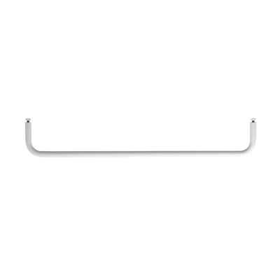 Rod for Metal Shelves 58cm - Black/White/Grey
