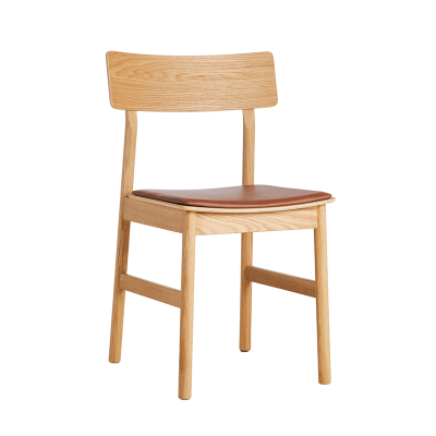 Pause Dining Chair - Leather Seat (More Colours Available)