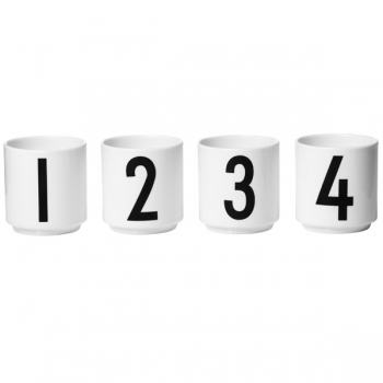 design letters espresso cups espresso tassen. Black Bedroom Furniture Sets. Home Design Ideas