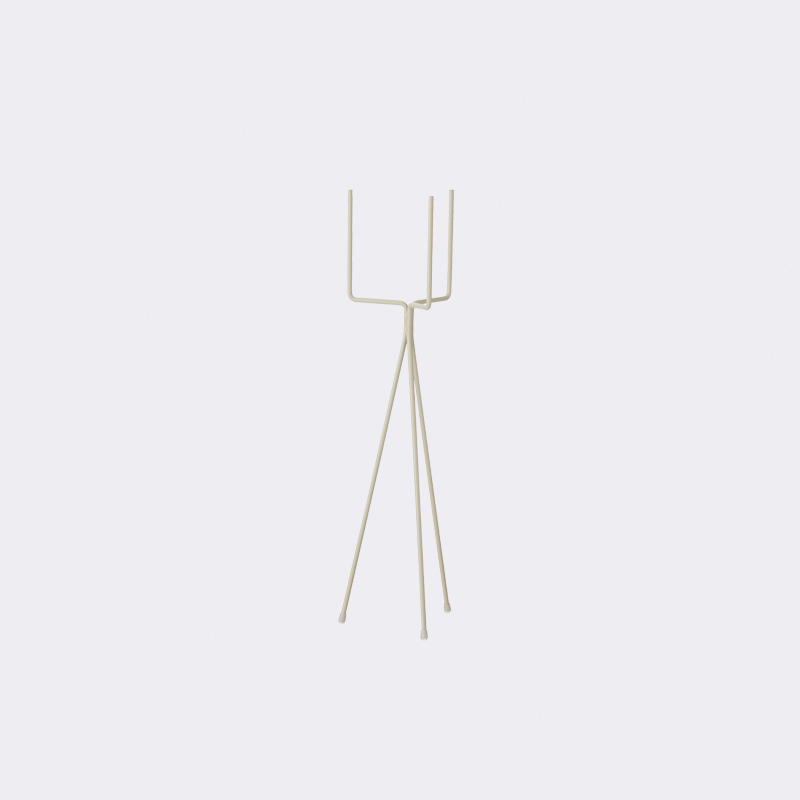 Ferm living plant stand grey small plantstand - Elegant ways to display air plants in your home ...