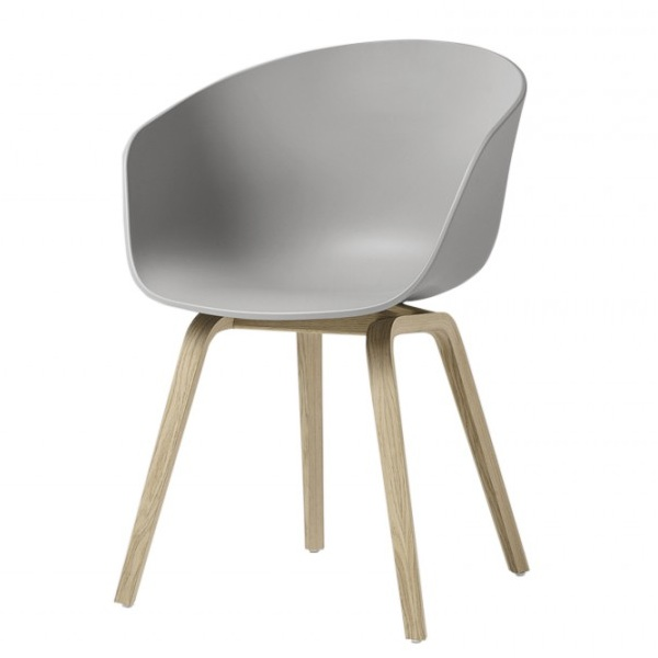 Hay About A Chair Aac22 Concrete Grey Stoel The Shop