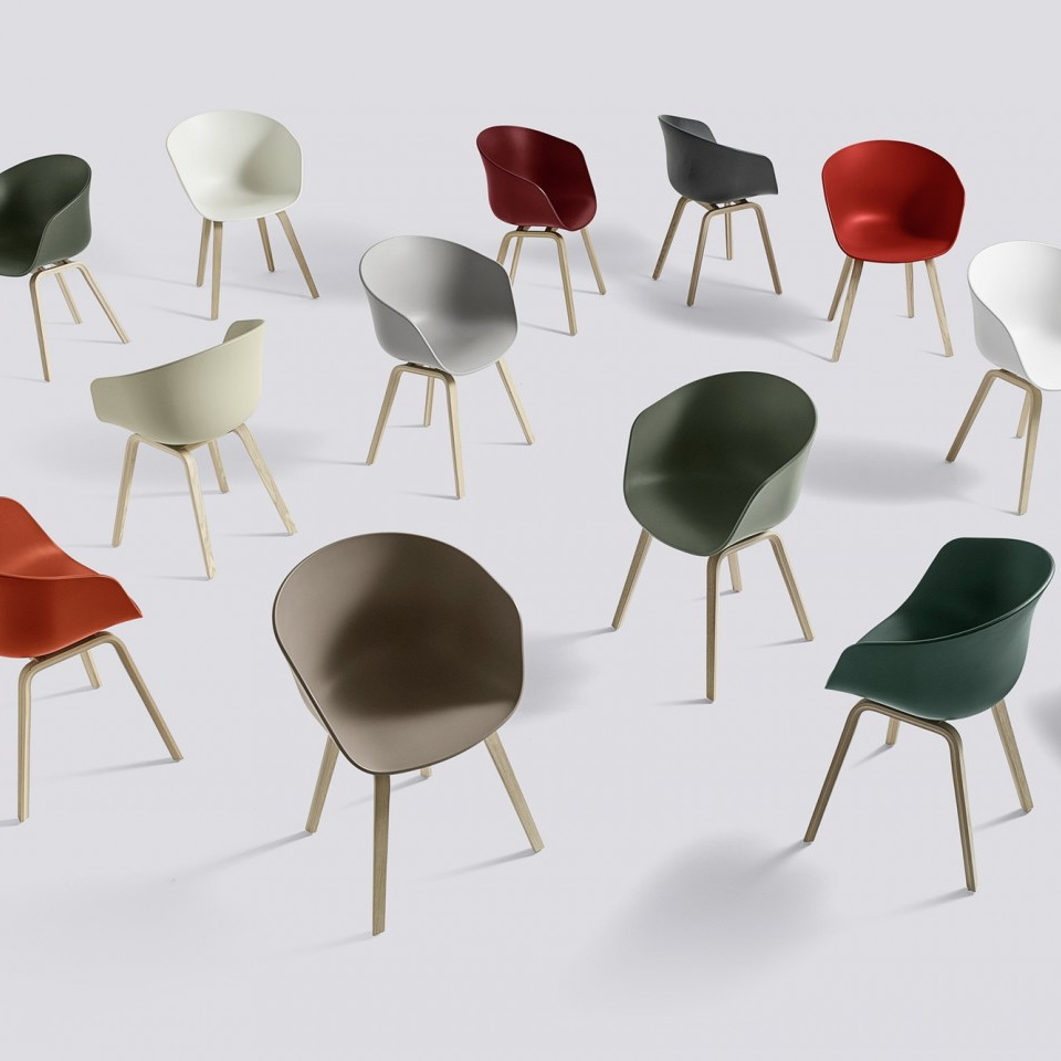 HAY - About A Chair AAC22 Khaki - Stoel - The SHOP Online