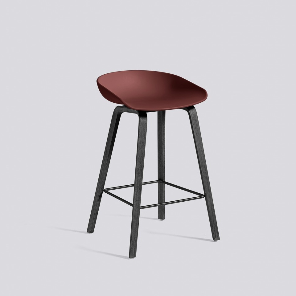 hay about a stool aas32 black base barkruk the shop. Black Bedroom Furniture Sets. Home Design Ideas