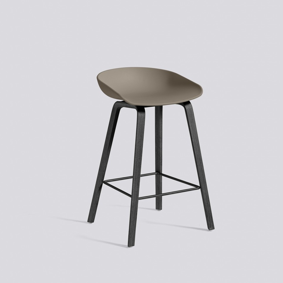 hay about a stool aas32 black base barkruk the shop online herentals. Black Bedroom Furniture Sets. Home Design Ideas