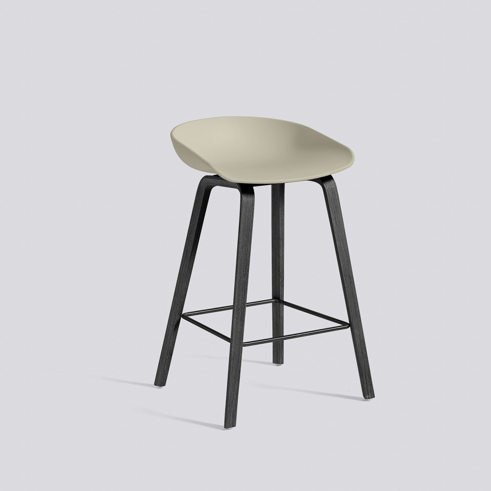 hay about a stool aas32 black base barkruk the shop online herentals. Black Bedroom Furniture Sets. Home Design Ideas