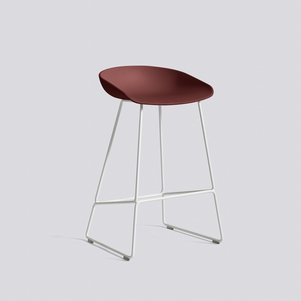 Hay About A Stool Aas38 White Base Barkruk The Shop