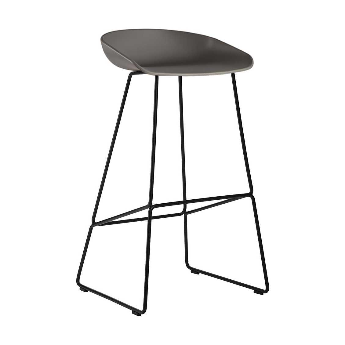 hay about a stool aas38 black base barkruk the shop online. Black Bedroom Furniture Sets. Home Design Ideas