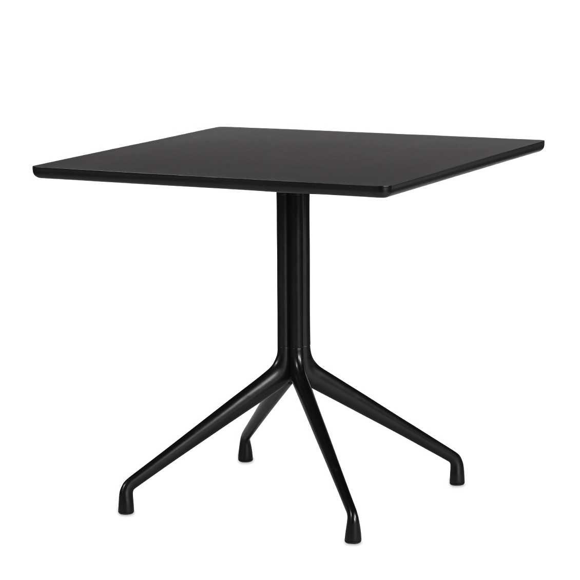 HAY About A Table AAT15 H 73 Cm BlackWhite Eettafel
