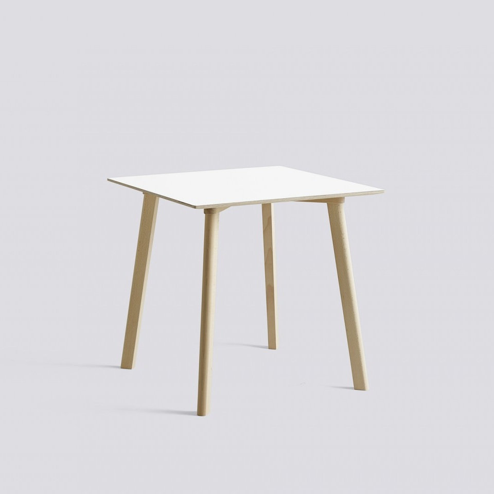 hay copenhague deux table cph210 75x75 beech base tafel the shop online herentals. Black Bedroom Furniture Sets. Home Design Ideas