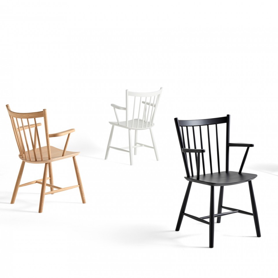 Hay j42 chair black white stoel the shop online for Hay about a chair replica