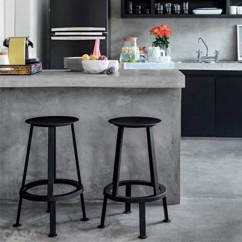 Hay Revolver Bar Stool 65cm Black Grey Red Barkruk