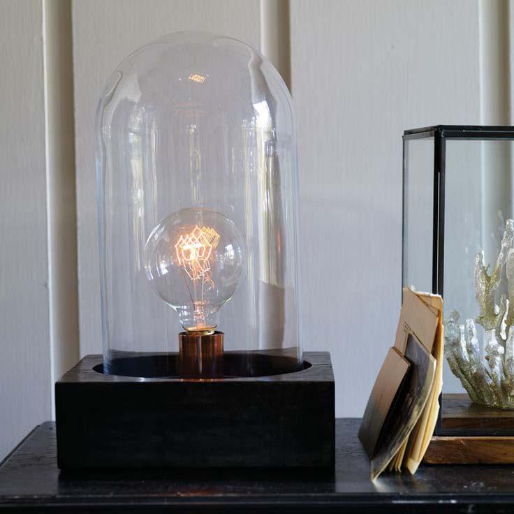 House Doctor - Lamp Bell - Glazen Stolp Lamp