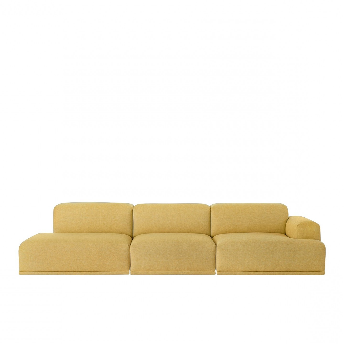 muuto connect sofa 3 seater open end modulaire sofa. Black Bedroom Furniture Sets. Home Design Ideas