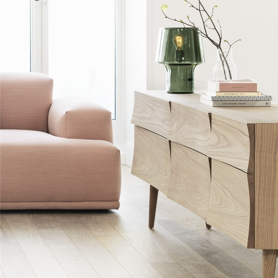 muuto connect with pouf modulaire sofa the shop online. Black Bedroom Furniture Sets. Home Design Ideas