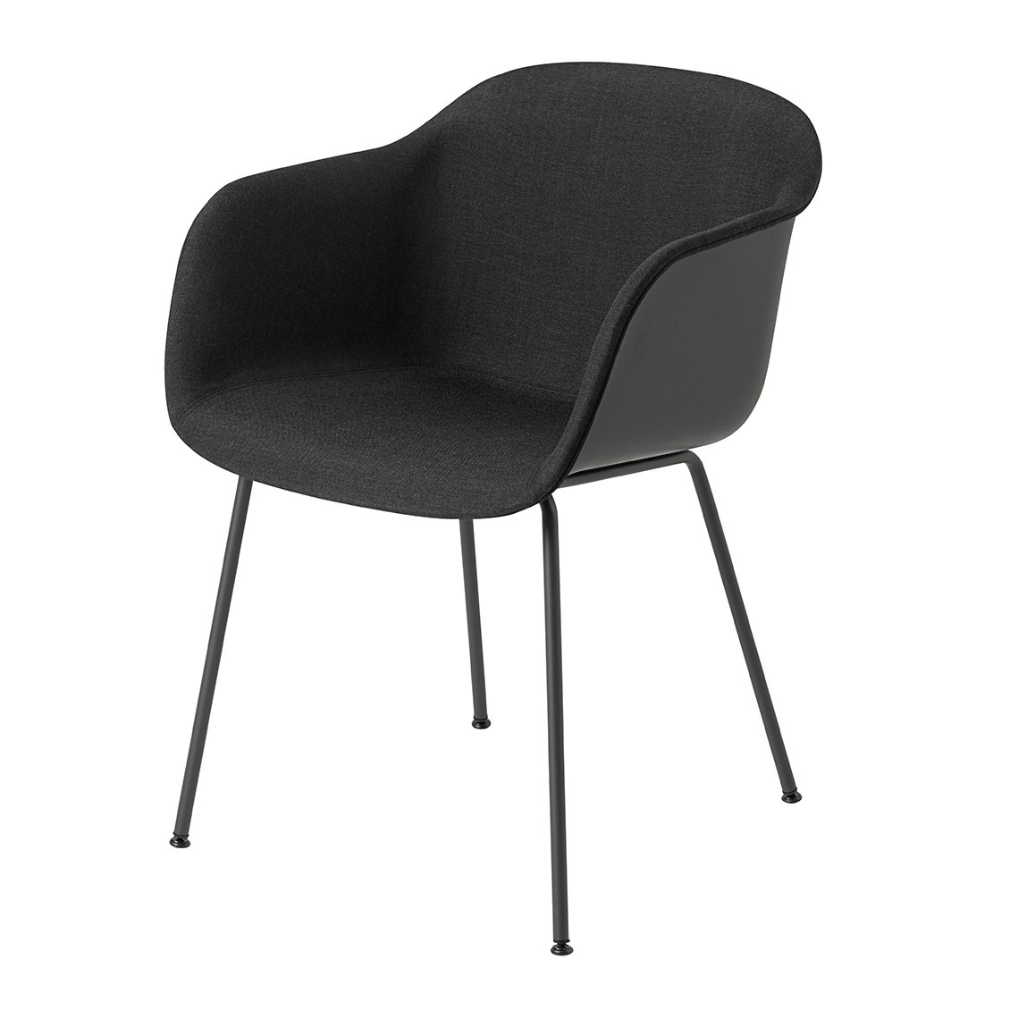 muuto fiber armchair tube base front upholstery stoel. Black Bedroom Furniture Sets. Home Design Ideas