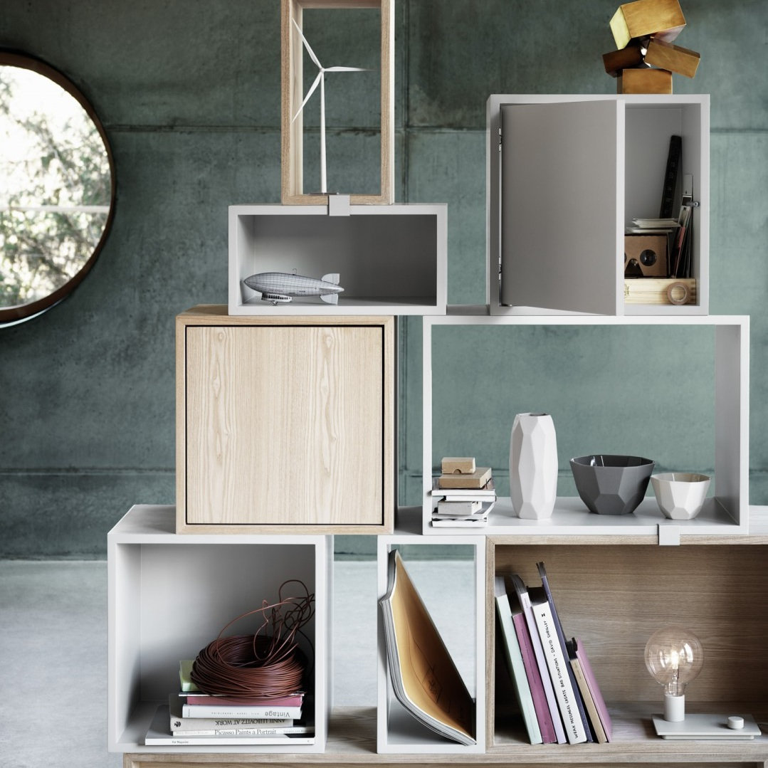Muuto Stacked Small Acoustic Panel Wandsysteem Kast