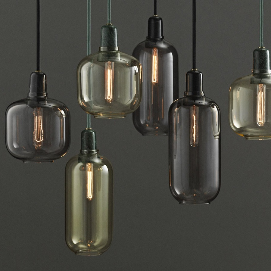 Online Lamp Store: Amp Lamp Smoke/Black Large