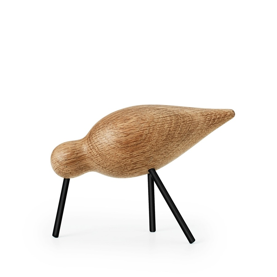 Normann copenhagen shorebird black legs medium vogel for Normann copenhagen online shop