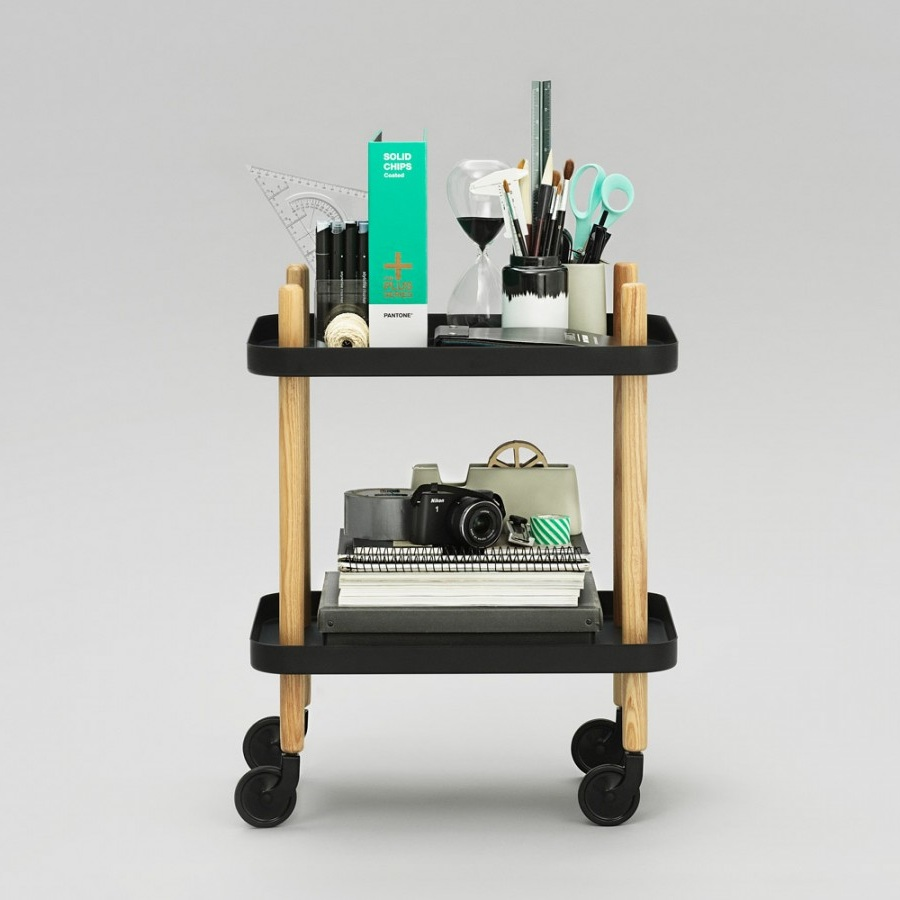 normann copenhagen block table black bijzettafel the. Black Bedroom Furniture Sets. Home Design Ideas
