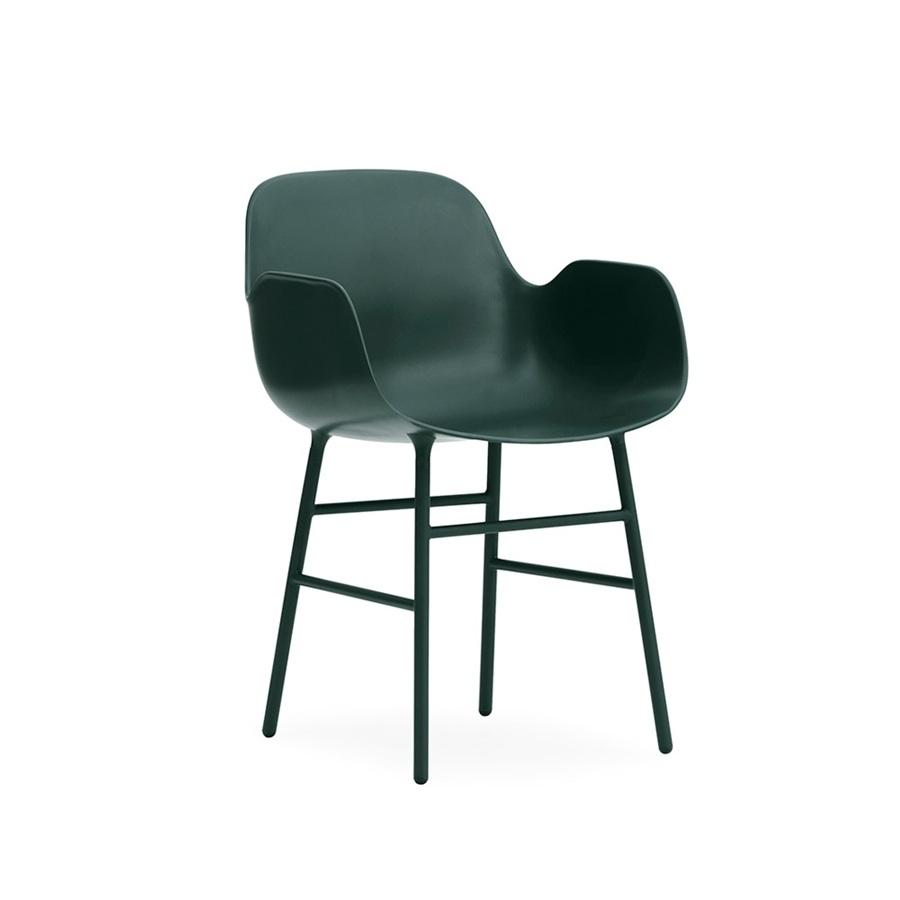 Normann copenhagen form armchair steel base stoel for Normann copenhagen online shop