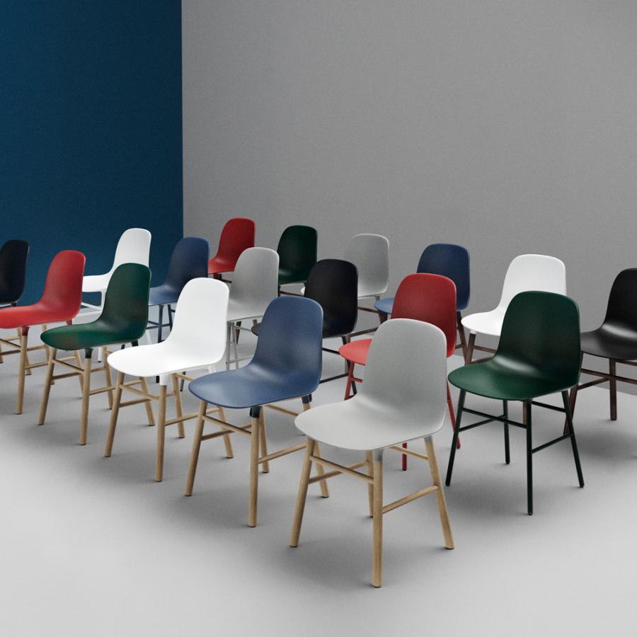 Normann copenhagen form chair steel base stoel the for Normann copenhagen online shop