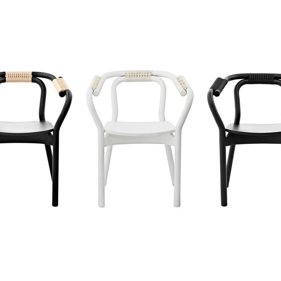 Normann copenhagen knot chair white stoel the shop for Normann copenhagen online shop