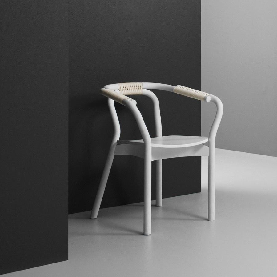 Normann copenhagen knot chair black stoel the shop for Normann copenhagen online shop