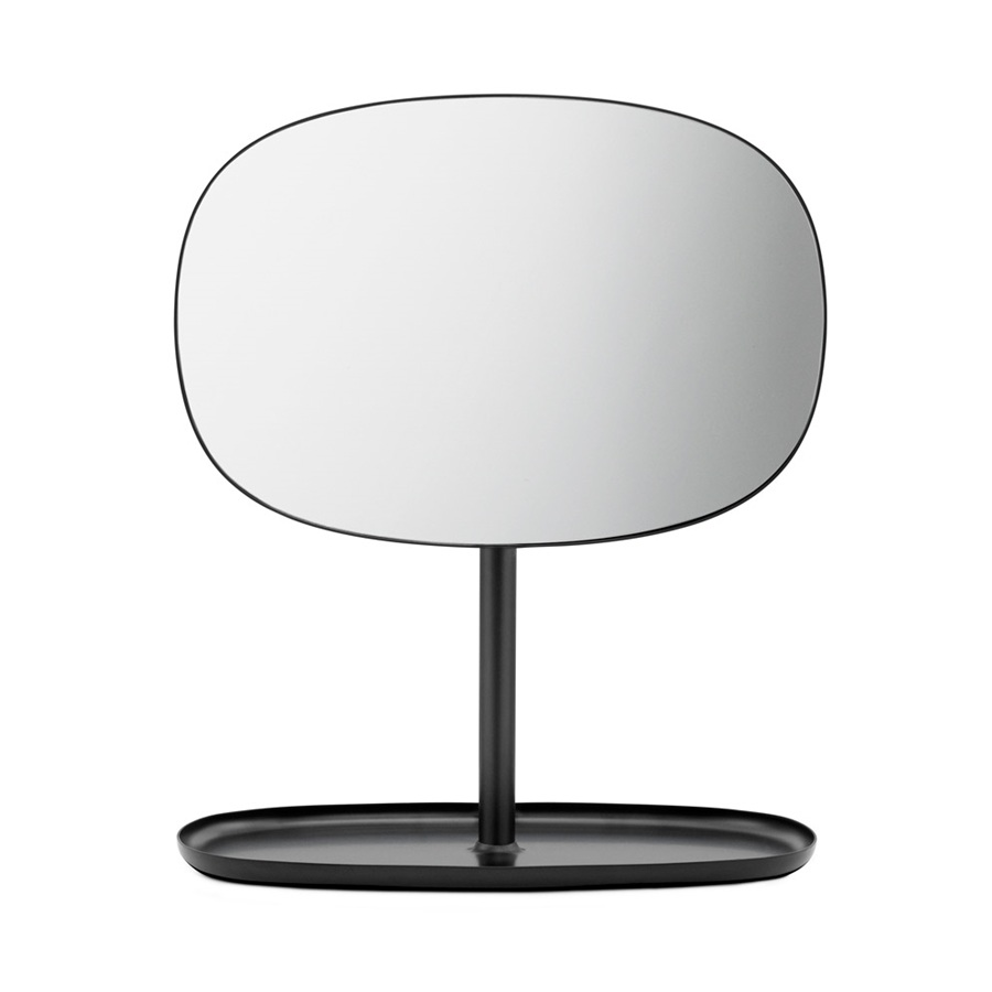 normann copenhagen flip mirror black spiegel the shop online herentals. Black Bedroom Furniture Sets. Home Design Ideas