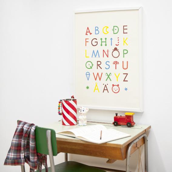 fine little day abc poster. Black Bedroom Furniture Sets. Home Design Ideas